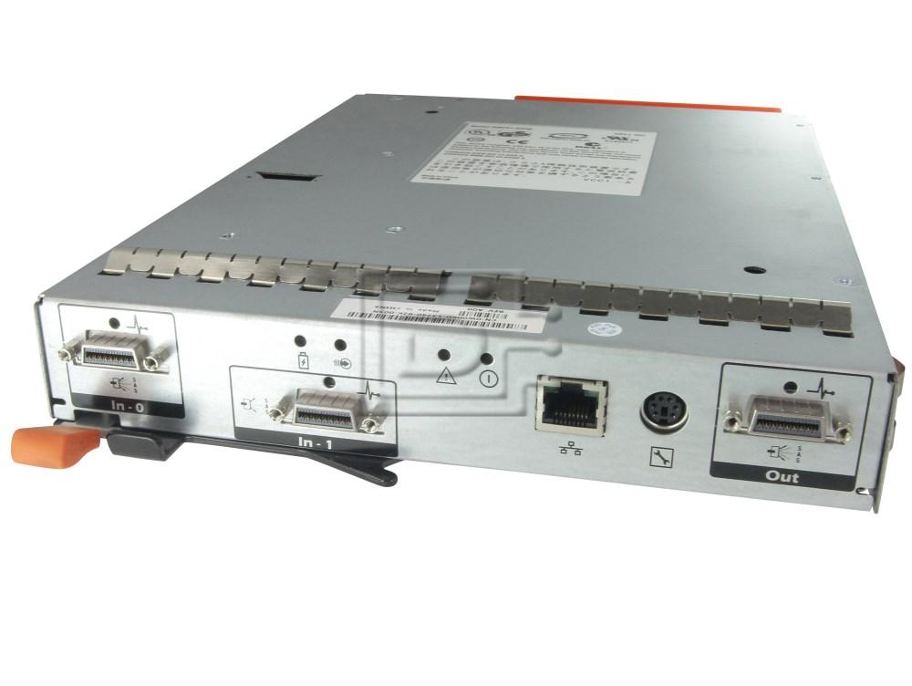 Dell CM670 0CM670 W006D 0W006D WR862 0WR862 P2GW4 0P2GW4 RU351 0RU351 PC202 0PC202 SAS Dual Port RAID Controller Module image 2