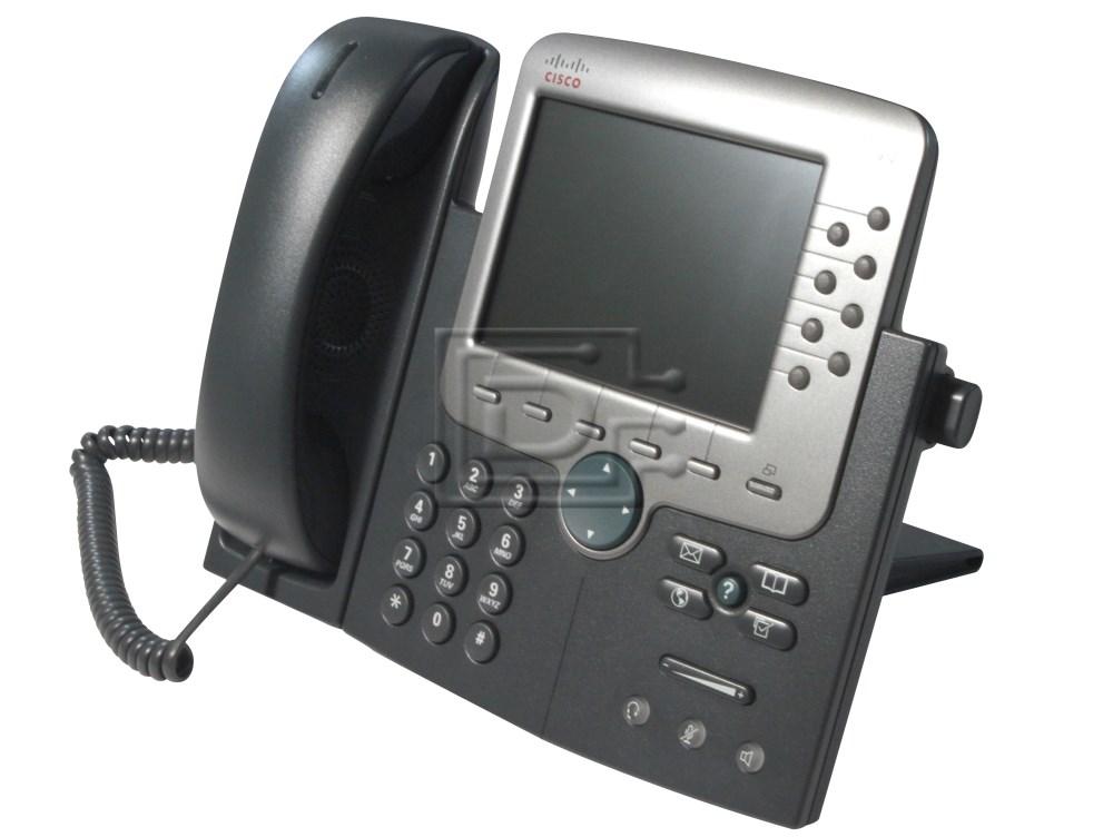 CISCO CP-7970G Cisco VoIP Telephone Handset image