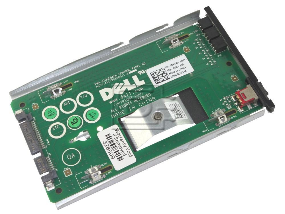 Dell CW148 0CW148 DN355 0DN355 I/O SATA Control Panel image 1