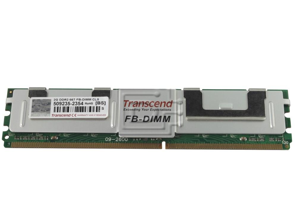 MT36HTF25672FY-667D1D4 Micron 2GB PC2-5300 DDR2-667MHz ECC CL5 240-Pin DIMM NEW