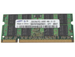 SAMSUNG RAM-DDR2-2GB-SODIMM-PC800-6400U-UP-OE CT25664AC800 RMN1150EF48D7W-800 EBE21UE8ACUA-8G-E NT2GT64U8HD0BN-AD KTH-ZD8000B/2G 9905295-081 9905295-055 MT16HTF25664HY-800E1 HYMP125S64CP8-S6 M470T5663QZ3-CF7 Laptop 2GB DDR2-800 PC6400 Notebook Memory Module 200 Pin SODIMM