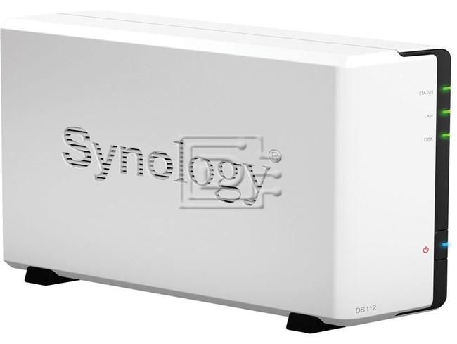 Synology DiskStation DS112 1 Bay SATA Dual Core NAS Server