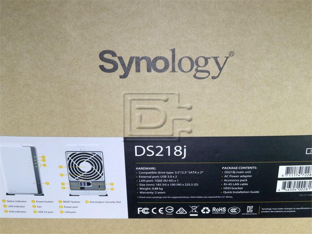 Synology DS218J Network Attached Storage Array Server image 4