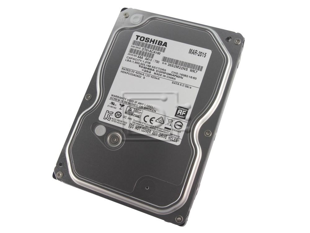 Toshiba DT01ACA100 9F13180 DS7SAE100 SATA hard drive image 1