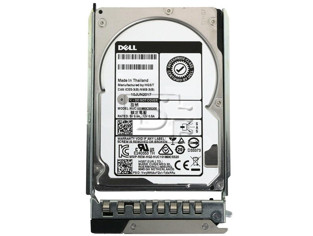 Dell 400-ATJO P6N2K 0P6N2K 400-ASHK SAS Hard Drive Kit DXD9H image 1