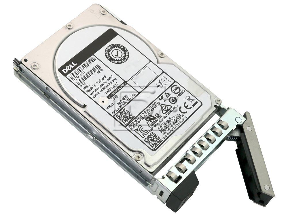 Dell 400-ATJO P6N2K 0P6N2K 400-ASHK SAS Hard Drive Kit DXD9H image 2