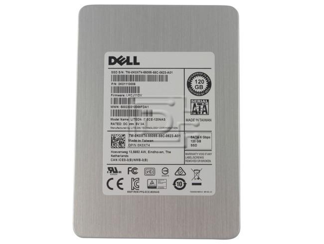 LITE-ON ECE-120NAS K0XT4 0K0XT4 3K01110006 SATA Solid-State Drive image 1