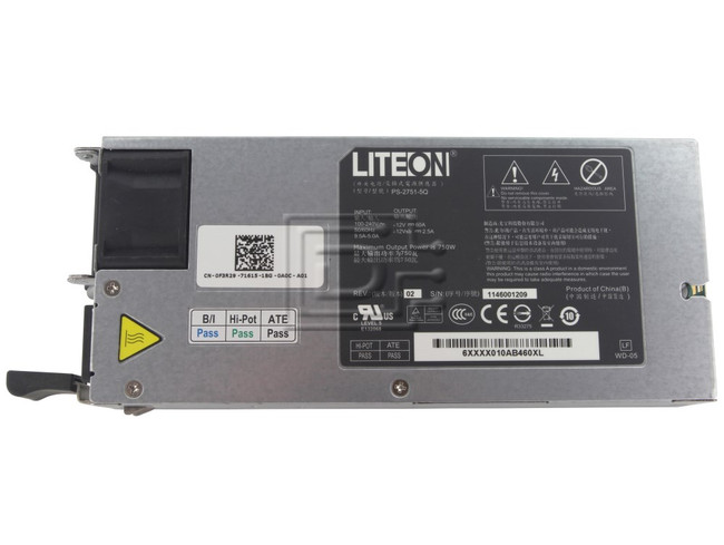 Dell F3R29 0F3R29 PS-2751-5Q Dell Power Supply image 1