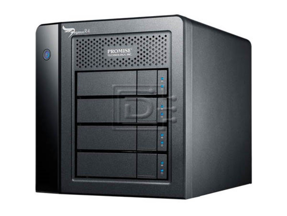 PROMISE F40DS4700100000 4TB Promise Pegasus R4 Direct Attached Storage DAS image 2