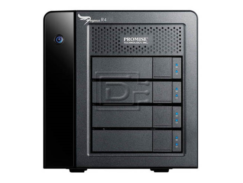 PROMISE F40DS4705100000 8TB Promise Pegasus R4 Direct Attached Storage DAS image 1