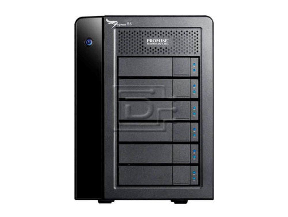 PROMISE F40DS6700100000 6TB Promise Pegasus R6 Direct Attached Storage DAS image 1