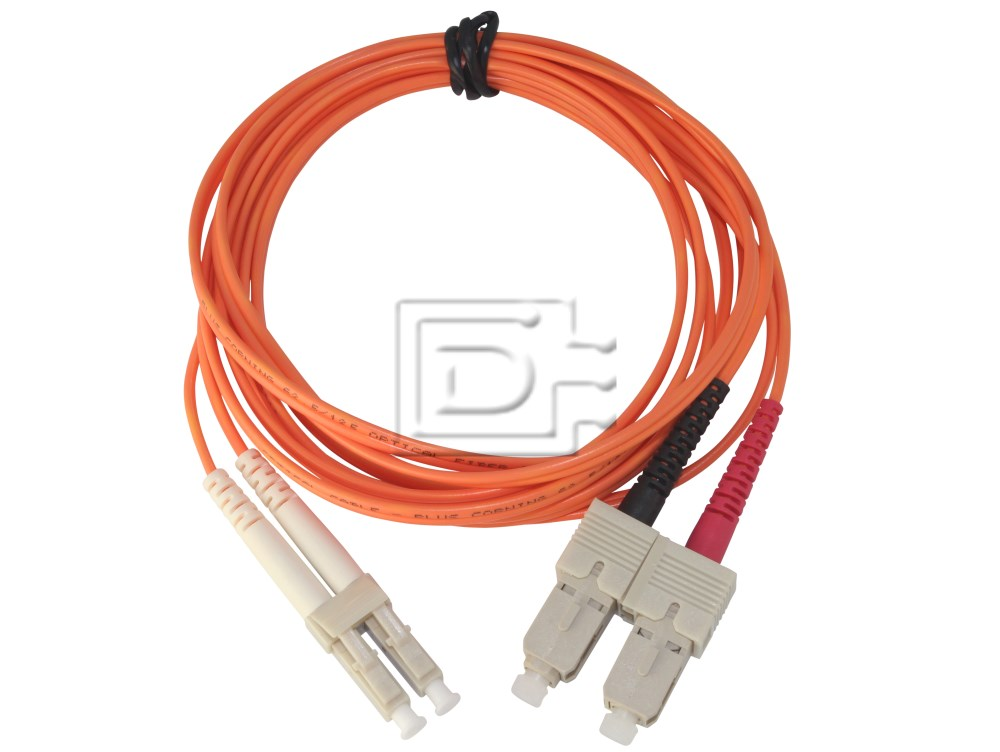 Generic CAB-FIBRE-625-SC-LC-7m-BN-OE 62.5/125 SC-LC Fibre Cable image 1