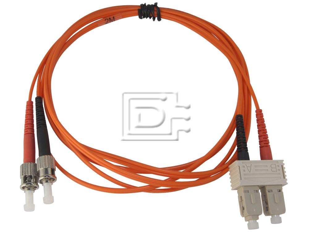 Generic CAB-FIBRE-625-SC-ST-2m-BN-OE 62.5/125 SC-ST Fibre Cable image 1