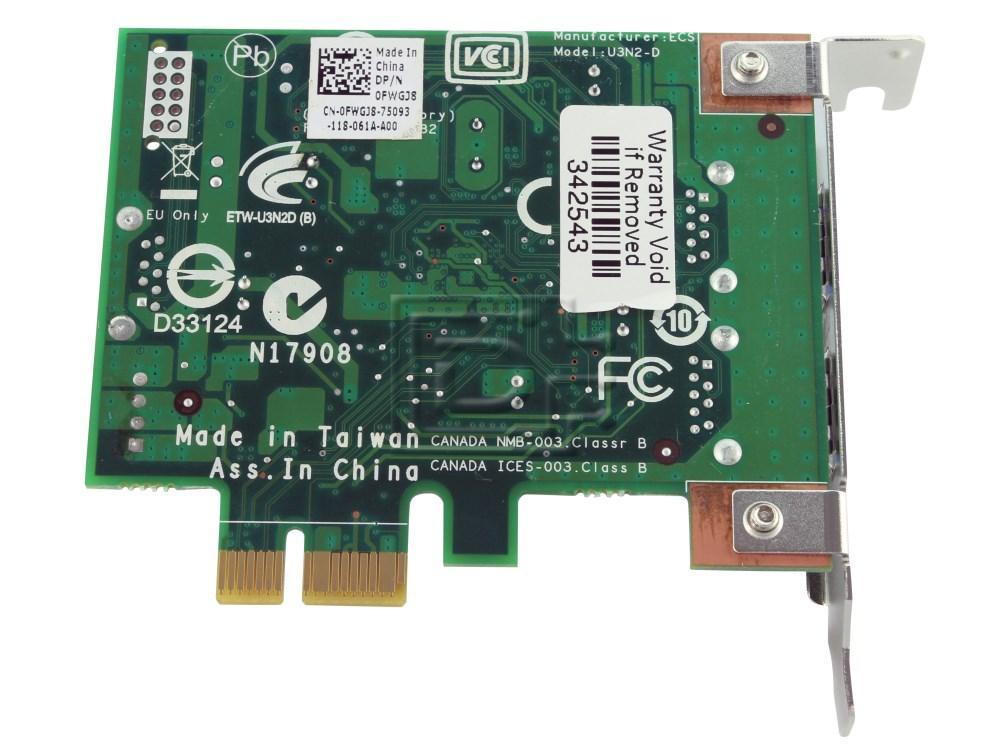 Dell FWGJ8 0FWGJ8 Expansion Controller Card image 2