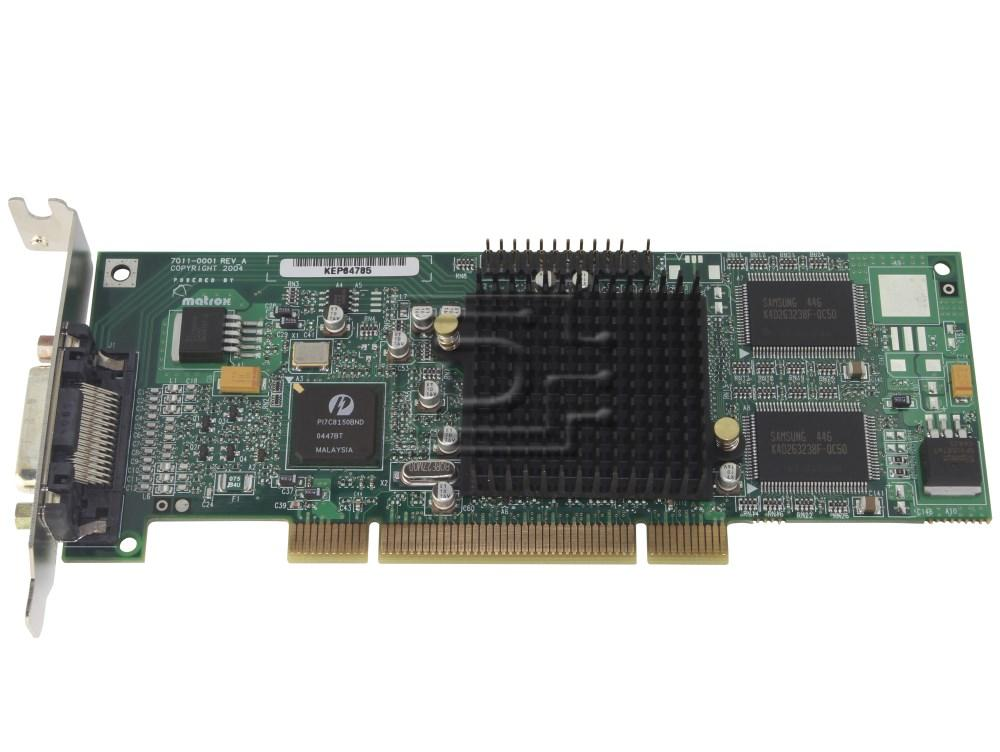 MATROX GRAPHICS G55MDDAP32DB Dual Monitor Head Video Card image 2