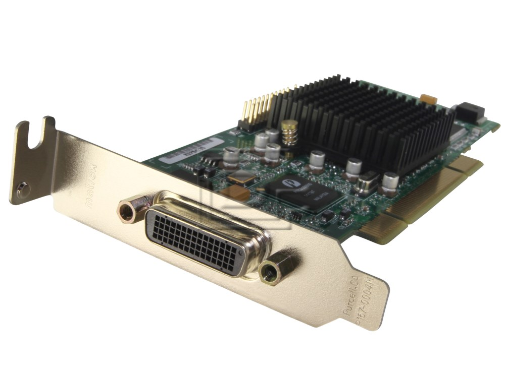MATROX GRAPHICS G55MDDAP32DB Dual Monitor Head Video Card image 3