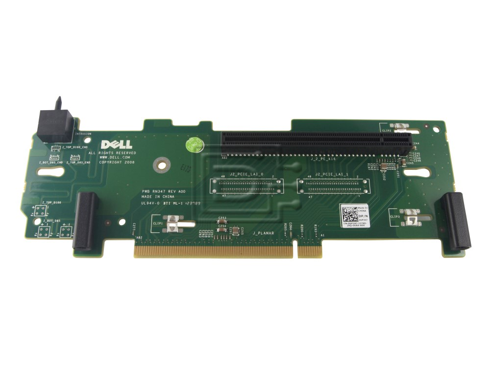 dell gp347 pci e x16 riser card for poweredge r710 nx3000. Black Bedroom Furniture Sets. Home Design Ideas