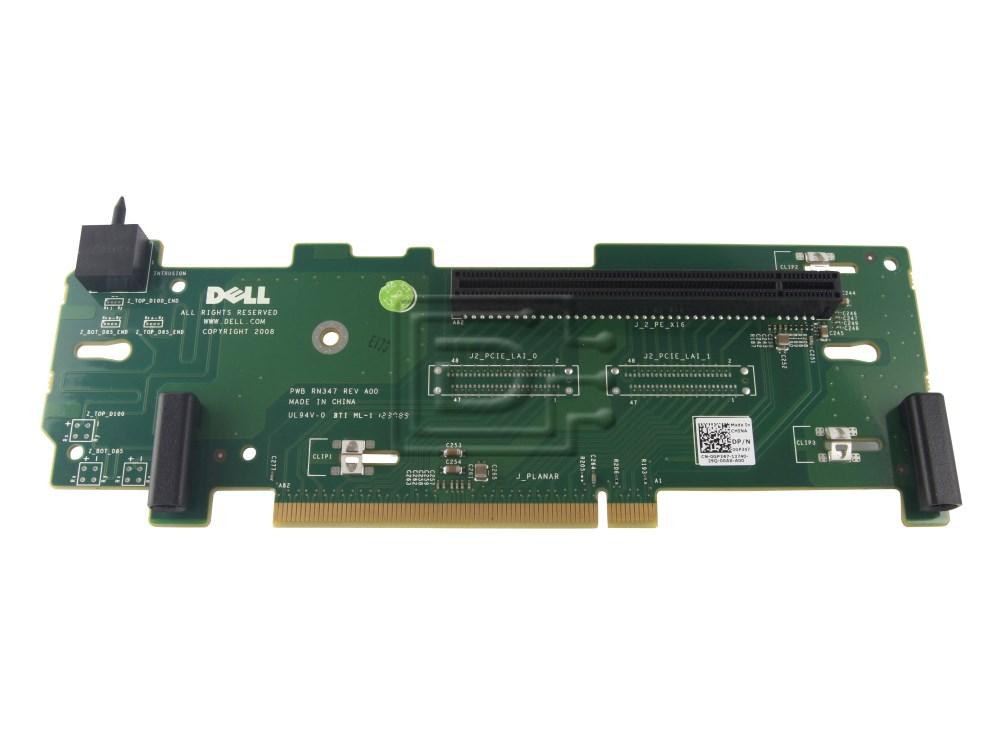 Dell GP347 0GP347 K299P 0K299P 330-4525 Dell PE R710 NX3000 Riser Card image 2