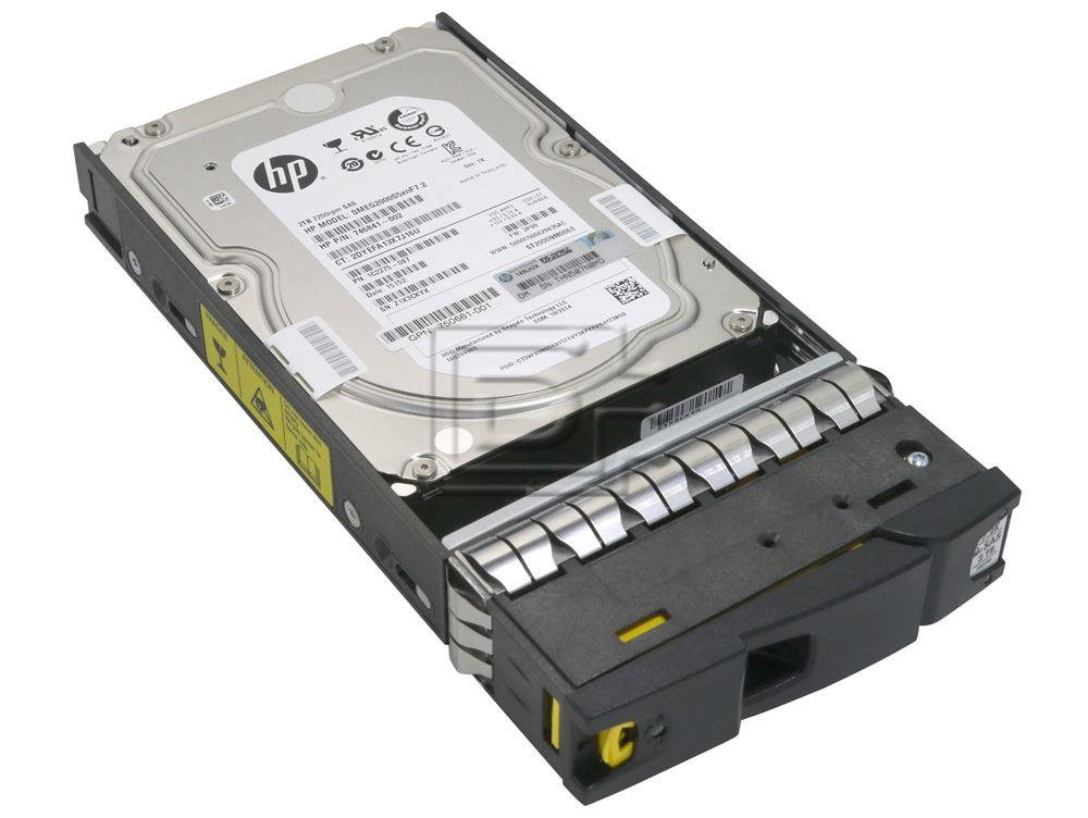HEWLETT PACKARD H6Z84A 746841-002 750661-001 1C2275-087 SMEG2000S5xnF7.2 602119-001 SAS Hard Drive image 3