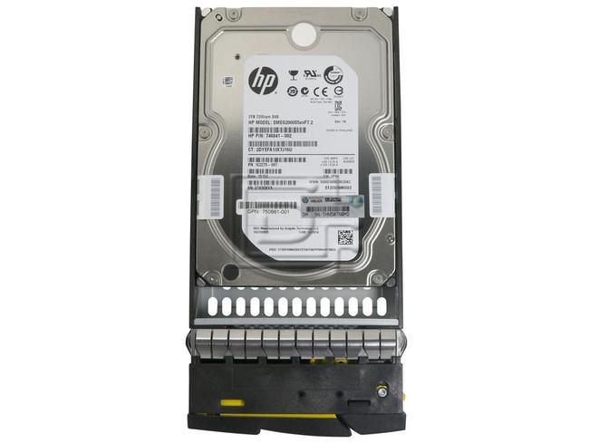 HPE 3PAR StoreServ H6Z84A 2TB LFF SAS Disk Drive