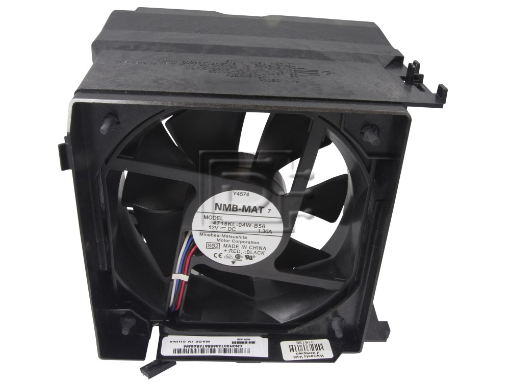 Dell H9073 0H9073 D7493 G9096 Y4574 Fan Assembly for Dell Optiplex Systems image 1