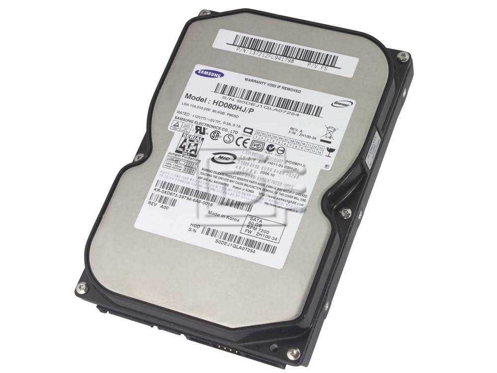 SAMSUNG HD080HJ SATA hard drives image 1