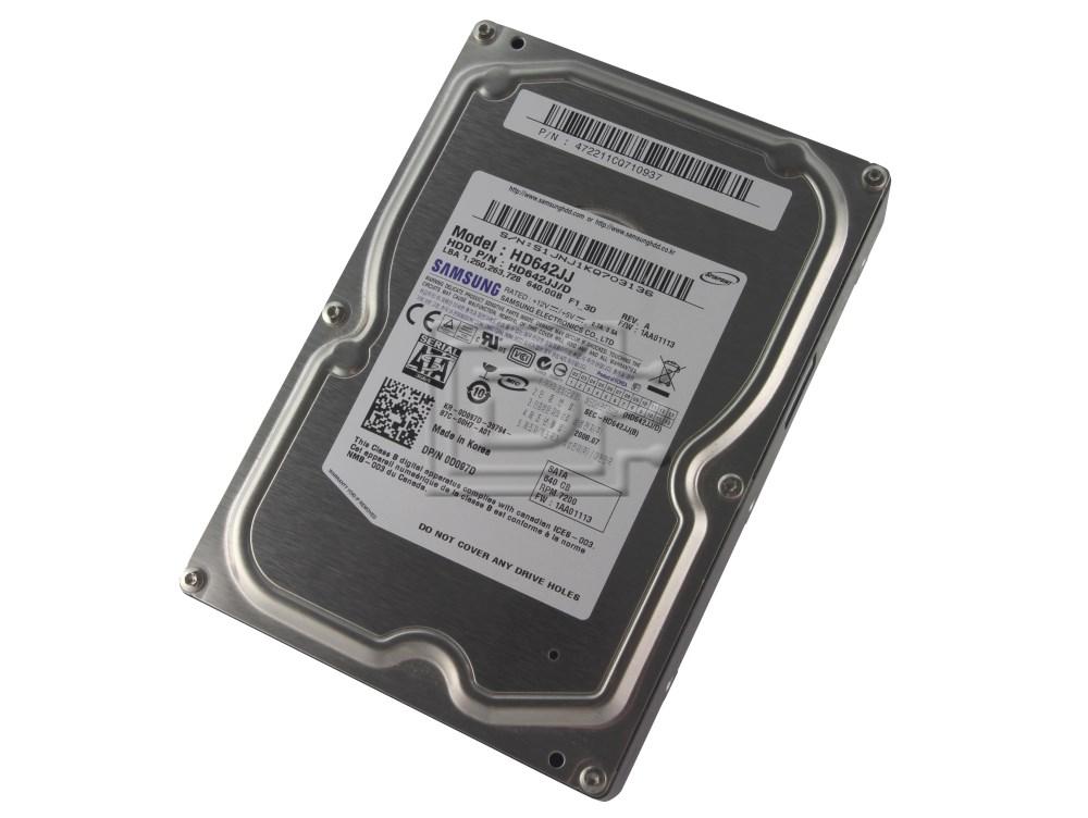 SAMSUNG HD642JJ 0D0978 D0978 341-8742 0D097D D097D SATA Hard Drive image 1