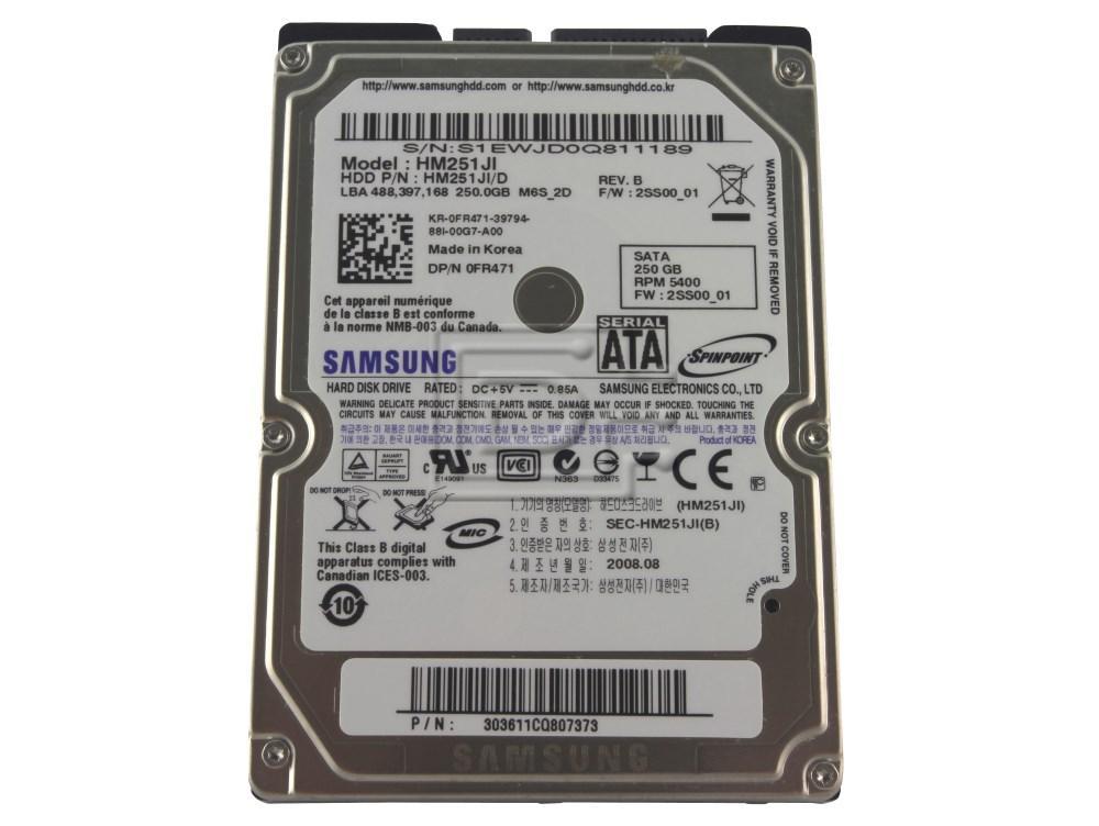 hard drive 2.5 sata 250GB