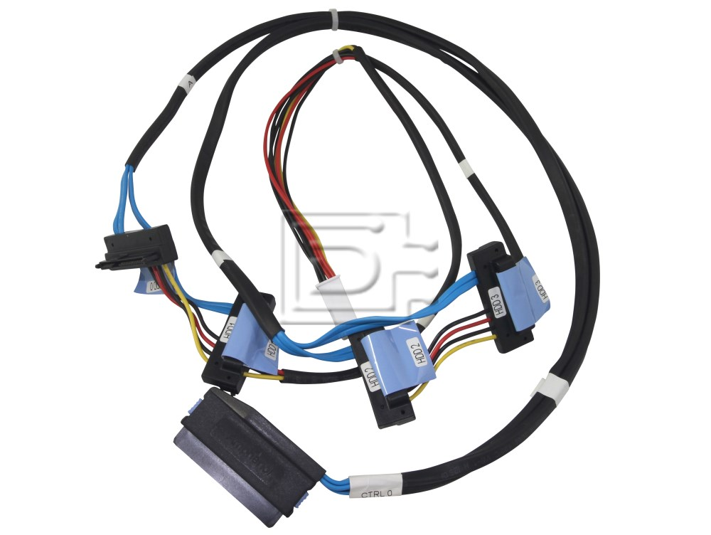 Dell HR28N 0HR28N SAS Cable Four Device HD T410 image 1