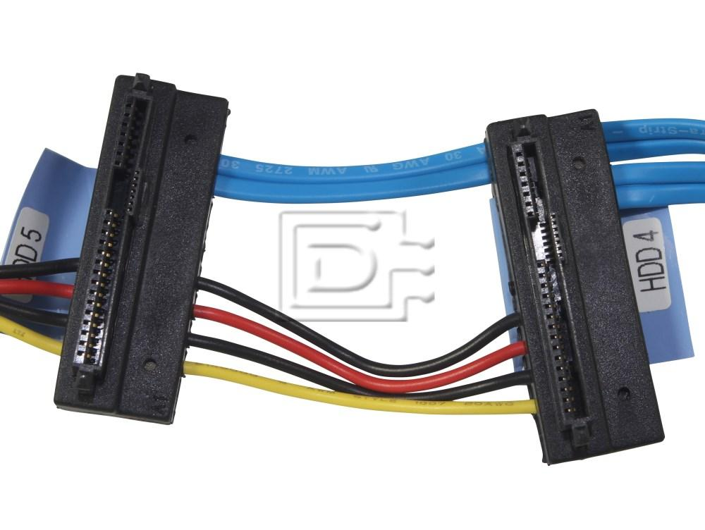 Dell HR28N 0HR28N SAS Cable Four Device HD T410 image 3
