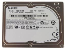 SAMSUNG HS040HB iPod CE hard drive