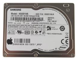 SAMSUNG HS081HA 655-1387D iPod CE hard drive