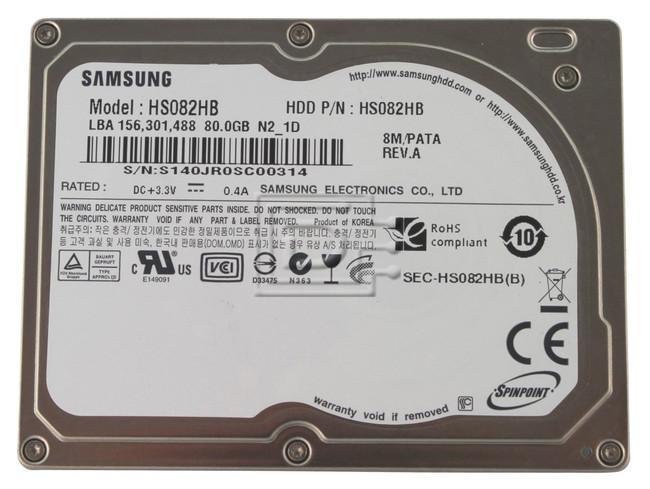 SAMSUNG HS082HB iPod CE hard drive image 1