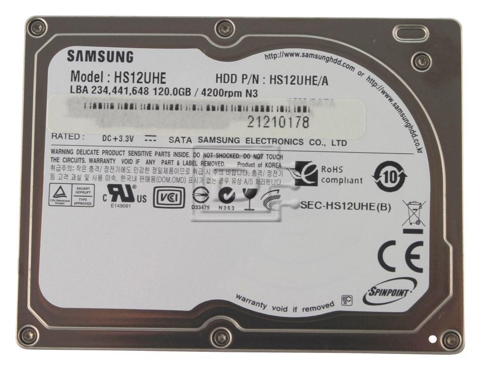 """SAMSUNG HS12UHE SATA 1.8"""" Hard Drive image 1"""
