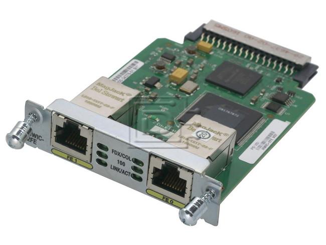 Cisco HWIC-2FE 2-Port Interface Card