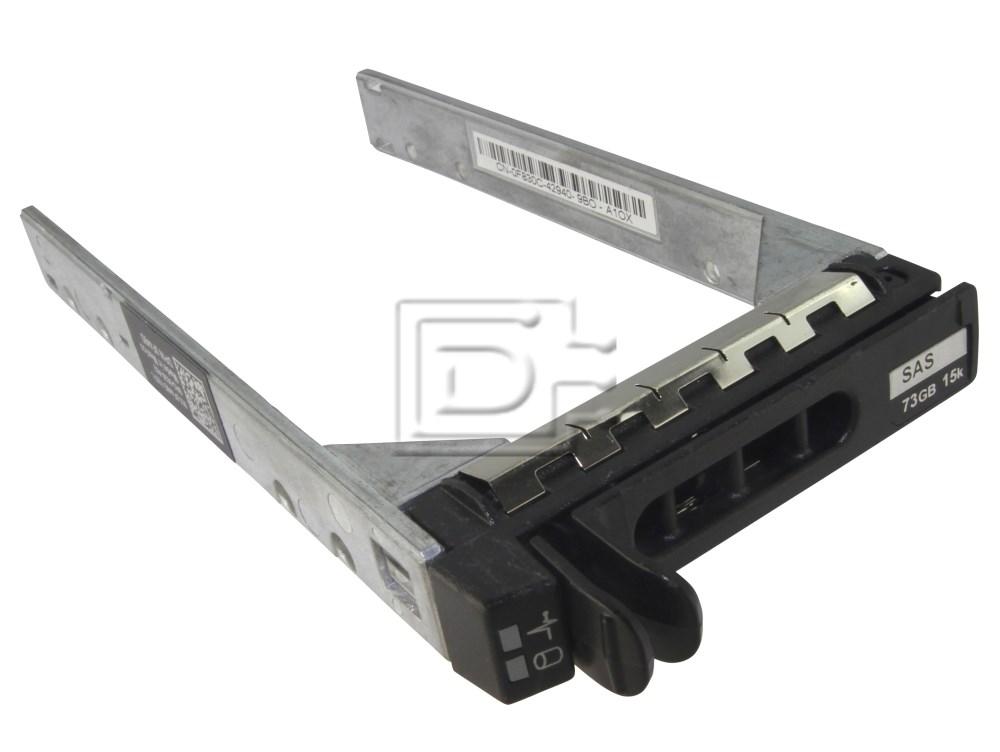Dell KF248 F830C Y961C NF088 H226C 0F830C 0Y961C 0NF088 0H226C 0KF248 XN391 GX61R 0GX61R Dell SAS Serial SCSI SATAu Disk Trays / Caddy image 1