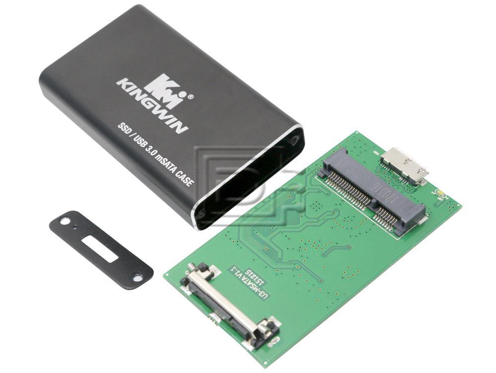 Kingwin KM-U3MSATA USB 3.0 Mini SATA SSD Enclosure Adapter