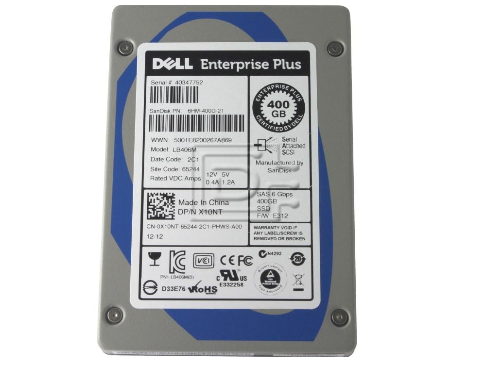 SANDISK LB406M X10NT 0X10NT 6HM-400G-21 sTec 400GB SAS SSD Drive image 2