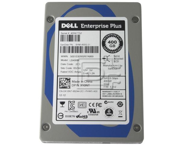 SANDISK LB406M X10NT 0X10NT 6HM-400G-21 SAS SSD Drive image 2