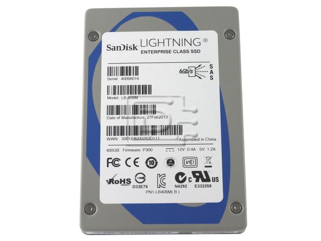 SANDISK LB406M sTec 400GB SAS SSD Drive image 1