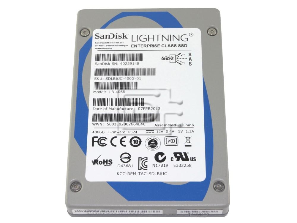SANDISK LB406R sTec 400GB SAS SSD Drive image 1