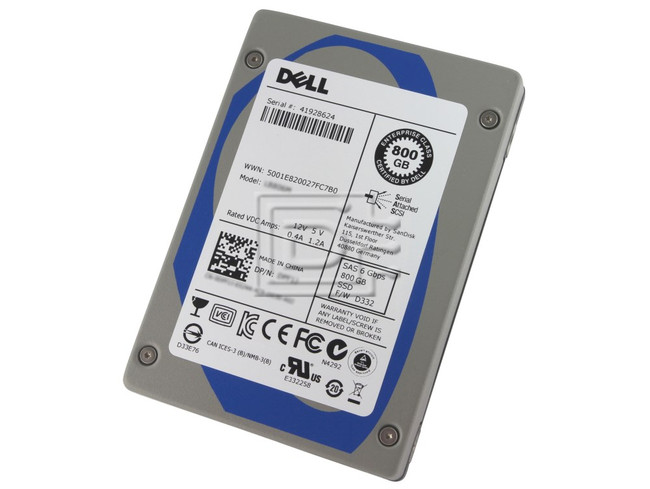 SANDISK LB806R SDLB6JC-800G 5Y05N 05Y05N eMLC SAS SSD image 1