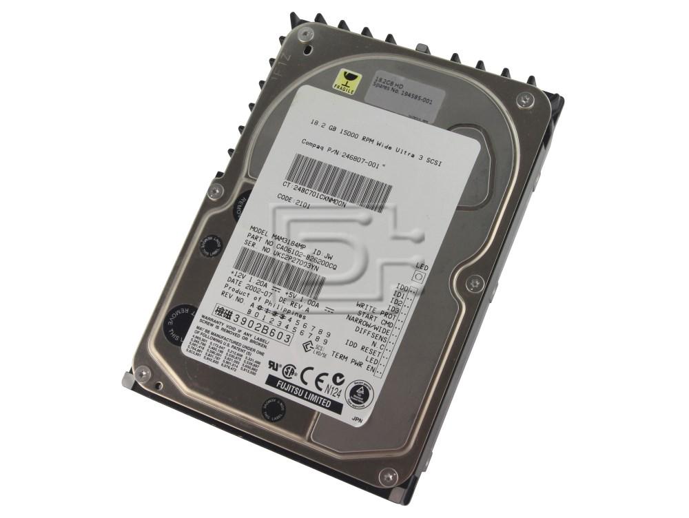 FUJITSU MAM3184MP SCSI Hard Drive image 1