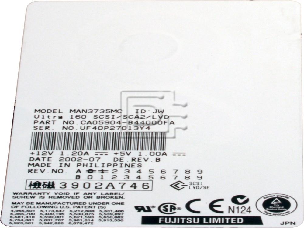 FUJITSU MAN3735MC SCSI Hard Drives image 2
