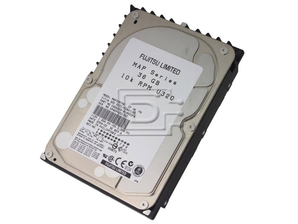 FUJITSU MAP3367NC SCSI Hard Drive image 2