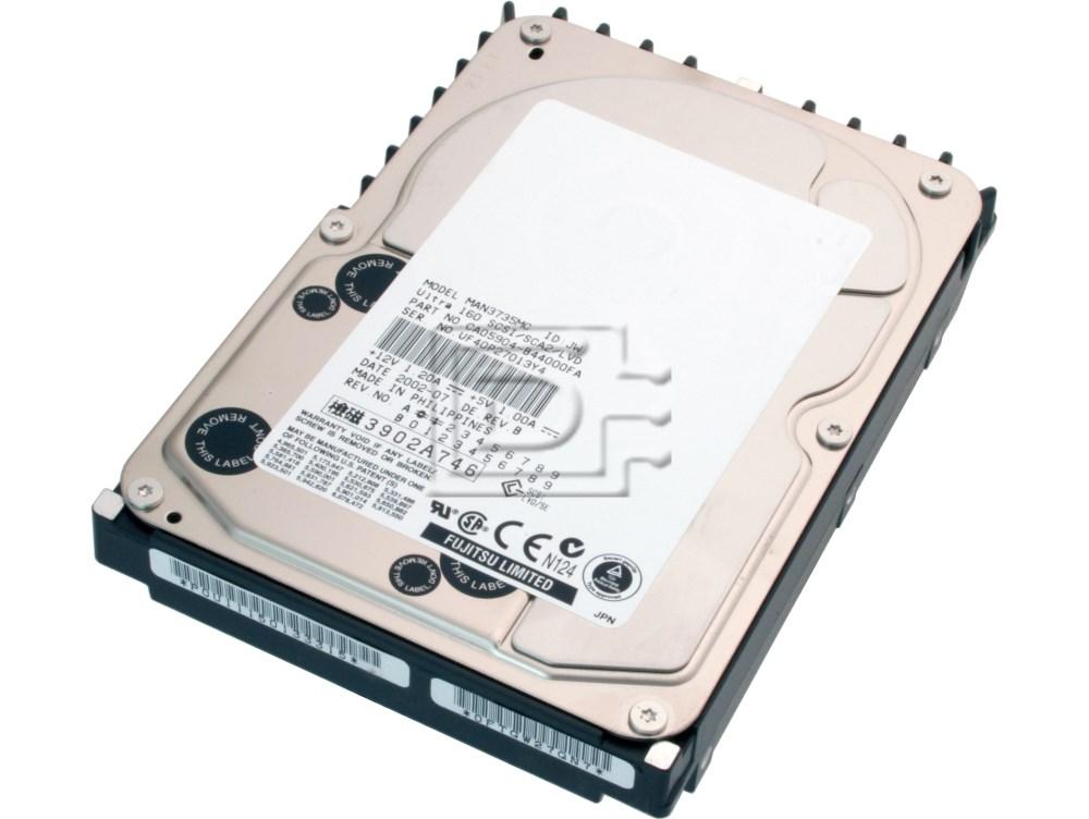 FUJITSU MAP3735NC CA06200-B24700TF SCSI Hard Drive image 1