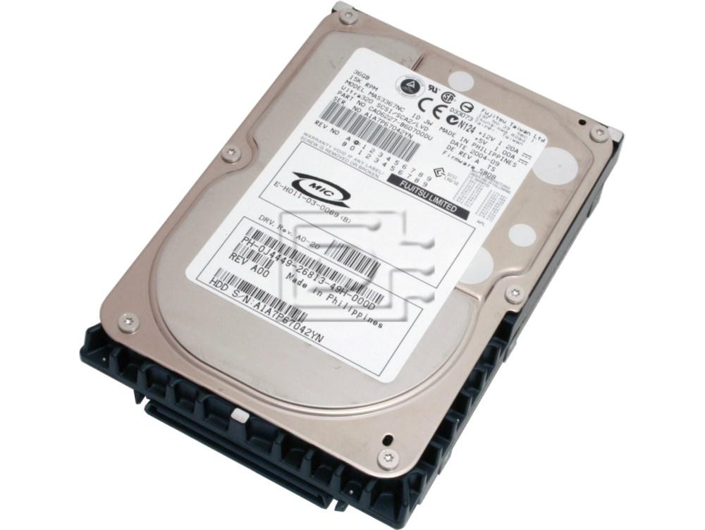 FUJITSU MAS3367NC SCSI Hard Drive image 1