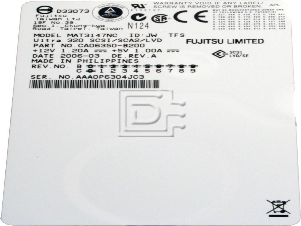 FUJITSU MAT3147NC SCSI Hard Drive image 2
