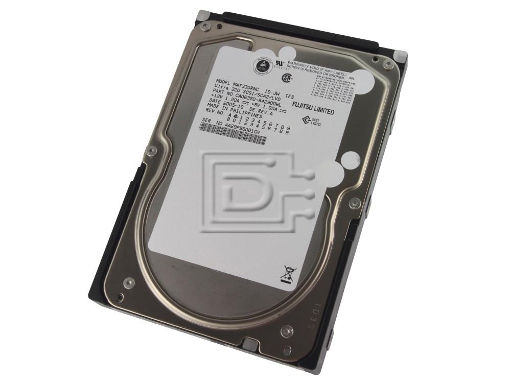 FUJITSU MAT3300NC SCSI Hard Drive image 1