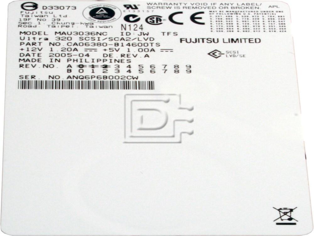 FUJITSU MAU3036NC SCSI Hard Drive image 2